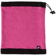4F Fleece halskrage/bandana, pink