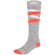 4F billiga skidstrumpor, dam, cold light grey