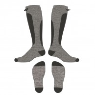 4F 2 par billiga skidstrumpor, herr, cold light grey