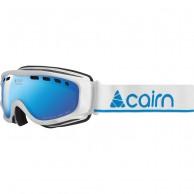 Cairn Visor, OTG skidglasögon, mat white blue