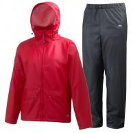 Helly Hansen Voss regnkläder, herr, röd