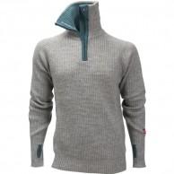 Ulvang Rav sweater w/zip, herr, grey melange