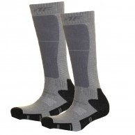 4F 2 par billiga skidstrumpor, barn, dark grey