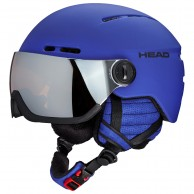 HEAD Knight visir skidhjälm, blue