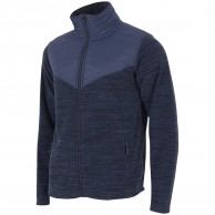 4F Manti fleece jacka, herr, navy melange
