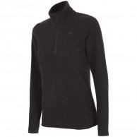 4F Thora Microtherm fleece tröja, dam, svart