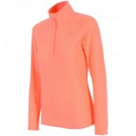 4F Thora Microtherm fleece tröja, dam, coral