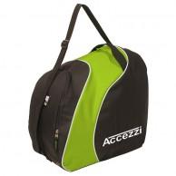 Accezzi Sapporo Pjäx- och hjälm väska, svart/grön