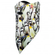 Airhole Facemask 2 Layer, penguins