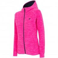 4F Warm Fleece hoodie, dam, pink