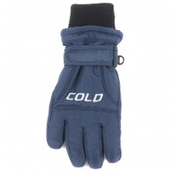 Cold Force Glove JR, junior skidhandske, navy