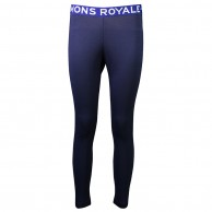 Mons Royale Christy Legging, skidunderbyxor dam, Navy