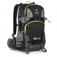 Kilpi Rise-U, skiryggsäck, svart