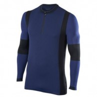 Falke Anderson Half Zip Pocket, herr, dark knight