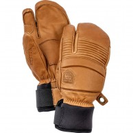 Hestra Leather Fall Line 3-finger Skidhandskar, Kork