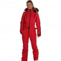 DIEL Ski Spirit skidoverall, dam, röd