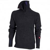 Ulvang Rav sweater w/zip, herr, mörk grå