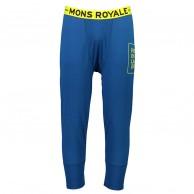 Mons Royale Shaun-off 3/4 Legging, skidunderbyxor, herr, oily blue