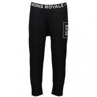 Mons Royale Shaun-off 3/4 Legging, skidunderbyxor, herr, svart