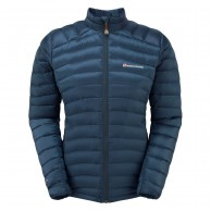 Montane Featherlite Down Micro Jacket, dam, narwhal blue
