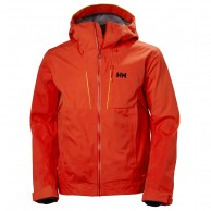 Helly Hansen Alpha Shell Jacket, Herr, Orange