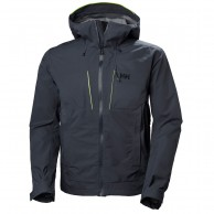 Helly Hansen Alpha Shell Jacket, Herr, Mörkblå