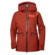 Helly Hansen W Kvitegga Shell Jacket, Dam, Red Brick