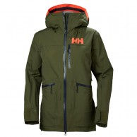 Helly Hansen W Kvitegga Shell Jacket, Dam, Ivy Green