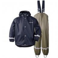 Didriksons Slaskeman, regnkläder, barn, navy