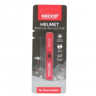 Recco Helmet Rescue, reflector, röd