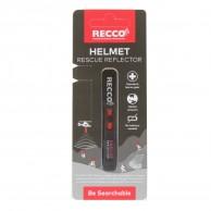 Recco Helmet Rescue, reflector, svart