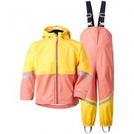 Didriksons Waterman, regnkläder, barn, coral rose