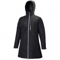 Helly Hansen W Long Belfast Jacket, dam, svart