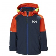 Helly Hansen K Shelter, regnjacka, barn, navy