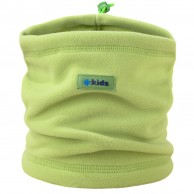 Kama Kids halskrage, Tecnopile fleece, lime
