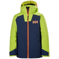 Helly Hansen Twister Skidjacka, Junior, Blå