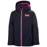 Helly Hansen Crystal Skidjacka, Junior, Mörkblå