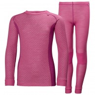 Helly Hansen Lifa Merino Set, Junior, Rosa
