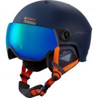 Cairn Eclipse Rescue, Skidhjälm med visir, Mörkblå