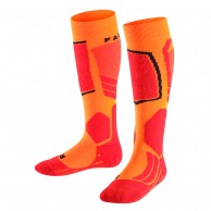 Falke SK2 Skidstrumpor, Barn, Orange
