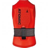 Atomic Live Shield Vest JR, Röd