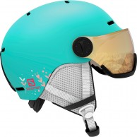 Salomon Grom Visor, Turkos