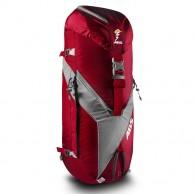 ABS Vario 45+5 Zip On, Väska för ryggsäck, Röd/Grå