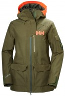 Helly Hansen W Powderqueen 2.0 Ski Jacket, dam, ivy green
