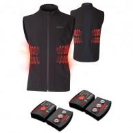 Lenz Heat Vest 1.0 + Lithium Pack rcB 1800, herr, black