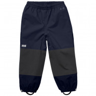 Helly Hansen K Shelter, regnbyxor, barn, navy