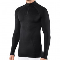 Falke Long Sleeved Shirt Maximum Warm, herr, svart