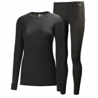 Helly Hansen Comfort Light Set, Dam, Svart