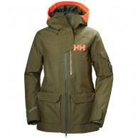 Helly Hansen W Powderqueen 2.0 Ski Jacket, dam, ivy green