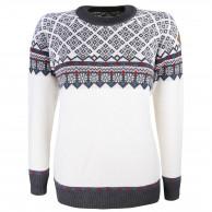Kama Frida Merino Sweater, Dam, Vit